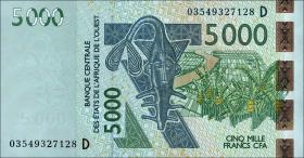 Mali P.417Da 5000 Francs 2003 (1)
