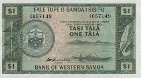 West Samoa P.16c 1 Tala (1967)