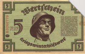 WHW-03 Winterhilfswerk 5 Reichsmark 1939/40 (2)