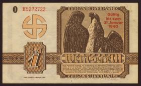 WHW Wertschein 1 Reichsmark 1940 (2)