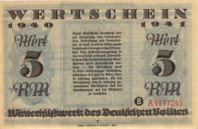 WHW-18 Winterhilfswerk 5 Reichsmark 1940/41 (2)
