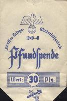 WHW 1940/41 Pfundspende 30 Pfg. (1)