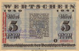 WHW-28 Winterhilfswerk 5 Reichsmark 1940/41 (1)