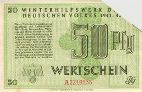 WHW-29 Winterhilfswerk 50 Pfennige 1941/42 (1-)