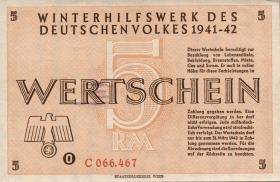 WHW-35 Winterhilfswerk 5 Reichsmark 1941/42 (1)