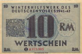 WHW-36 Winterhilfswerk 10 Reichsmark 1941/42 (2)