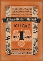 WHW Bremen 1 Opfermark Februar 1940 (1)