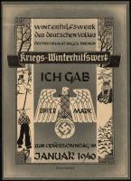 WHW Bremen 1 Opfermark Januar 1940 (1-)