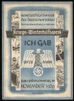 WHW Bremen 1 Opfermark November 1939 (2)