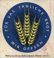 WHW Plaketten 1933/1934 Februar 1934 (2)