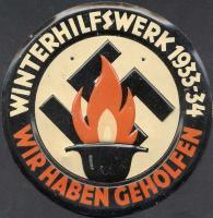 WHW Plakette 1933/1934 (1-)