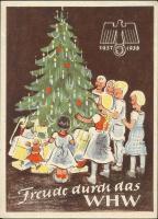 WHW Plaketten 1937/1938 Dezember 1937 (1-)