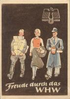 WHW Plaketten 1937/1938 Februar 1938 (1-)