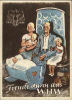 WHW Plaketten 1937/1938 Januar 1938 (1-)