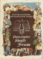 WHW Plaketten 1937/1938 Oktober 1937 (1-)