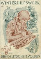WHW Plaketten 1938/1939 Dezember 1938 (1-)