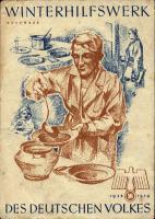 WHW Plaketten 1938/1939 November 1938 (1-)