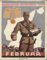 WHW Plaketten 1939/1940 Februar 1940 (1-)