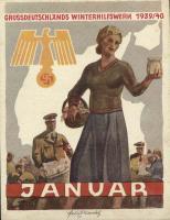 WHW Plaketten 1939/1940 Januar 1940 (1-)