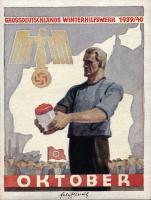 WHW Plaketten 1939/1940 Oktober 1939 (1-)