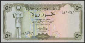 Jemen / Yemen arabische Rep. P.15 50 Rials (1973) (1)
