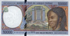 Zentral-Afrikanische-Staaten / Central African States P.605Pa 10000 Francs 1994 (1)