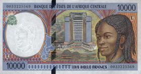 Zentral-Afrikanische-Staaten / Central African States P.405Lf 10000 Fr. 2000 (1)