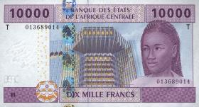 Kongo / Congo P.110T 10000 Fr. 2002 (1)