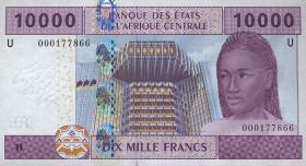 Kamerun / Cameroun P.210U 10000 Fr. 2002 (1)