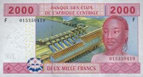 Zentral-Afrikanische-Staaten / Central African States P.508F 2000 Fr. 2002 (1)