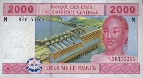 Zentralafrikanische Republik/Central African Republic  R. P.308M 2000 Fr. 2002 (1)