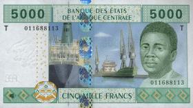 Kongo / Congo P.109T 5000 Fr. 2002 (1)