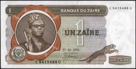Zaire P.18a 1 Zaire 1976 (1)