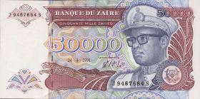 Zaire P.40a 50000 Zaires 1991 (1)