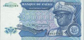 Zaire P.42a 200.000 Zaires 1992 (1)