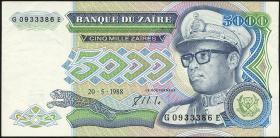Zaire P.37a 5000 Zaires 1988 (2)
