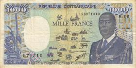 Zentralafrikanische Republik / Central African Republic P.016 1000 Fr. 1989 (3)