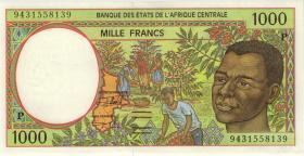 Zentral-Afrikanische-Staaten / Central African States P.602Pb 1000 Fr. 1994 (1)