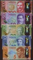 Neuseeland / New Zealand P.191-95 5 - 100 Dollars (2015) Polymer (1)