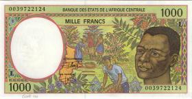 Zentral-Afrikanische-Staaten / Central African States P.402Lg 1000 Fr. 2000 (1)
