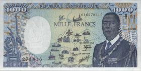 Zentralafrikanische Republik/Central A. R.  P.015 1000 Fr. 1985 (1)