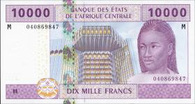 Zentralafrikanische Republik / Central African Republic P.310M 10000 Fr. 2002 (1)