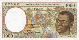 Äquatorial Guinea / Equatorial G. P.502Na 1000 Fr. 1993 (1)