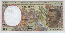 Äquatorial Guinea / Equatorial G. P.502N 1000 Fr. 2000 (1)