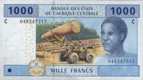 Zentral-Afrikanische-Staaten / Central African States P.607C 1000 Francs 2002 (1)
