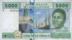 Zentral-Afrikanische-Staaten / Central African States P.509F 5000 Fr. 2002 (1)