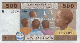 Kamerun / Cameroun P.206U 500 Fr. 2002 (1)
