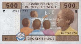 Zentralafrikanische Republik/Central African Republic  P.306M 500 Fr. 2002 (1)