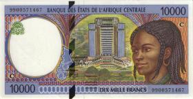 Zentral-Afrikanische-Staaten / Central African States P.105Cc 5000 Francs 1999 (1-)