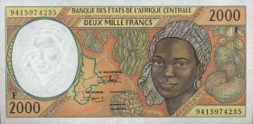 Zentralafrikanische Republik/Central African Republic P.303Fa 2000 Fr. 1994 (1)